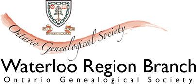 Waterloo Region Branch | Ontario Genealogical Society